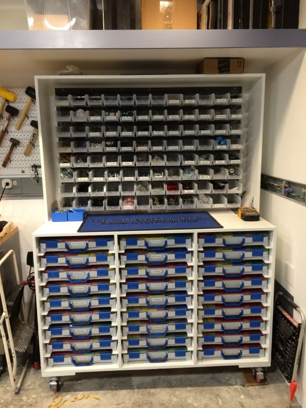 organizing large quantities of misc fasteners the garage journal rh garagejournal com